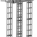 Эскиз четырехмачтового подъемника ПК «Подъемное Оборудование»
