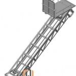 Эскиз наклонного подъемника ПК «Подъемное Оборудование»