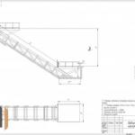 Чертеж наклонного подъемника ПК «Подъемное Оборудование»