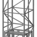 Эскиз шахтного подъемника ПК «Подъемное Оборудование»