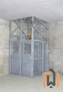 Шахтный подъемник производства ПК Подъемное Оборудование