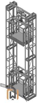 Двухмачтовый подъемник ПК Подъемное Оборудование