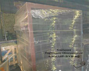 Поставка двухмачтового подъемника в Казахстан