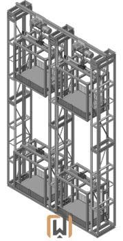 Трехмачтовый подъемник ПК Подъемное Оборудование