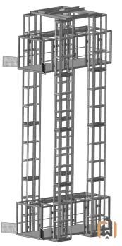 Четырехмачтовый подъемник ПК Подъемное Оборудование