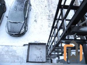 Малый грузовой подъемник для компании Деловые линии, Тверь, год работы